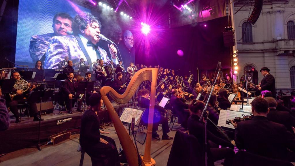 Las voces sinfónicas de la cumbia más popular