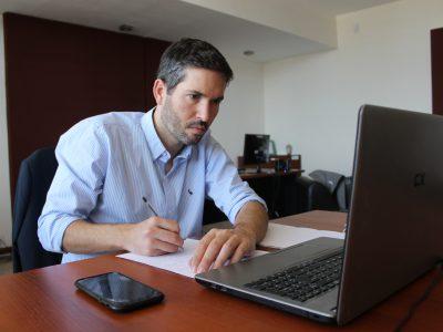 Martín Müller, presidente del CGE